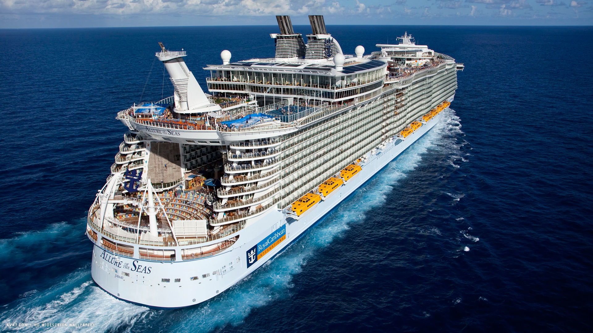 allure of the seas cruise ship